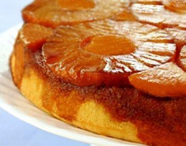 Pineapple Mango Upside Down Cake