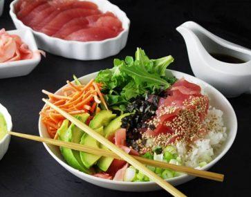 DIY Tuna Rice Bowl