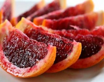Semi Dried Chocolate Dipped Blood Oranges