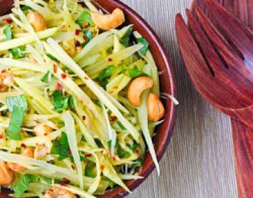 Kingfish and Green Mango Salad