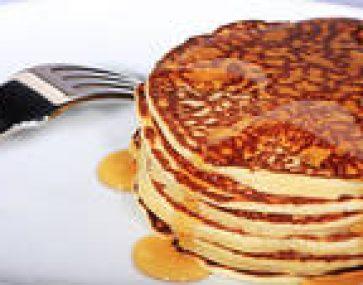 Ricotta Hotcakes with Caramelised Mandarin
