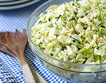 Cabbage and Parmesan Salad