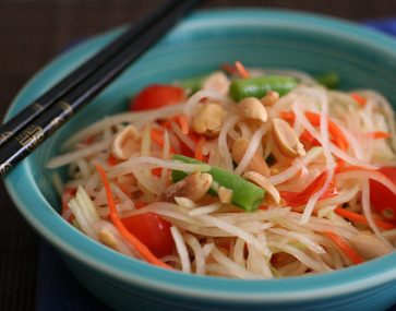 Green Papaya Noodle Salad