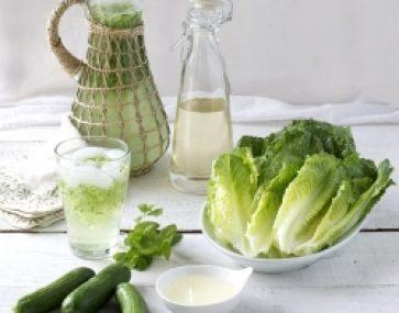 Cosberg, Jicama and Spring Onion Salad