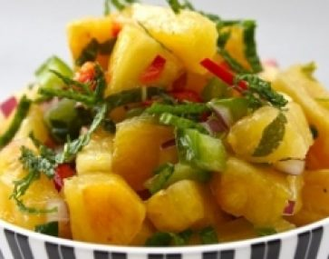 Pineapple and Lime Salsa