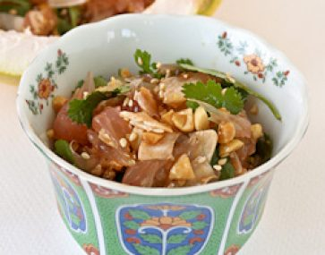 Pomelo and Prawn Salad