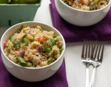 Quinoa, Bean & Herb Salad